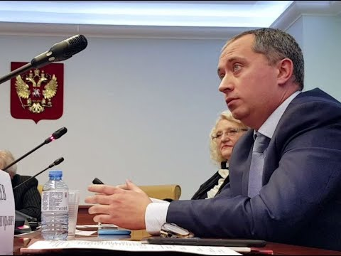 Выступление А.Ю. Шишонина и академика РАН А.Г. Румянцева в Совете Федерации, 28 ноября 2018г.