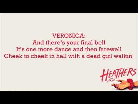 Dead Girl Walking (reprise) - Heathers [Karaoke]