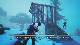 Fortnite i tried to get dub no shield even though i gad 6 mini$$$