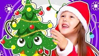 ЗАКОЛДОВАННАЯ ЕЛКА! Как Нарядить Новогоднюю ЕЛКУ в год Свиньи? Говорящая ЕЛКА! Амелька Карамелька