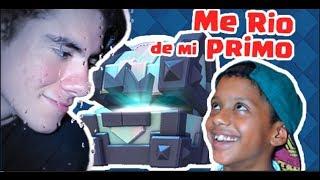 ME RIO DE MI PRIMO [SE MOLESTA] Y VUELVO A SUBIR DE ARENA