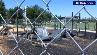 Firefighters: Elk Grove Playground Fire Is Arson