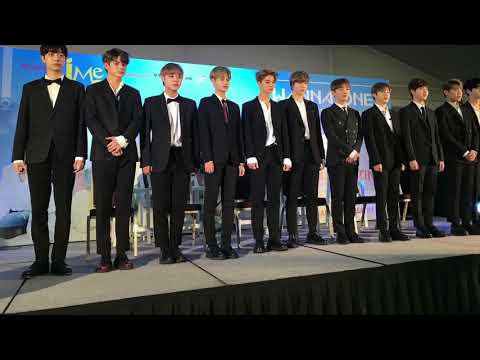 Wanna One in Manila Official Press Conference