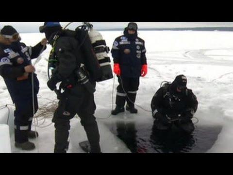 102 метра подо льдом Белого моря: российские аквалангисты установили рекорд погружения