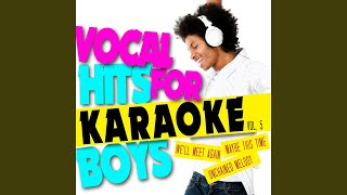 Wind Beneath My Wings (In the Style of Stephen Houghton) (Karaoke Version)