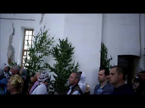 Праздник Святой Троицы в Троицком соборе