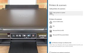 Epson XP-245 Windows 10 Install