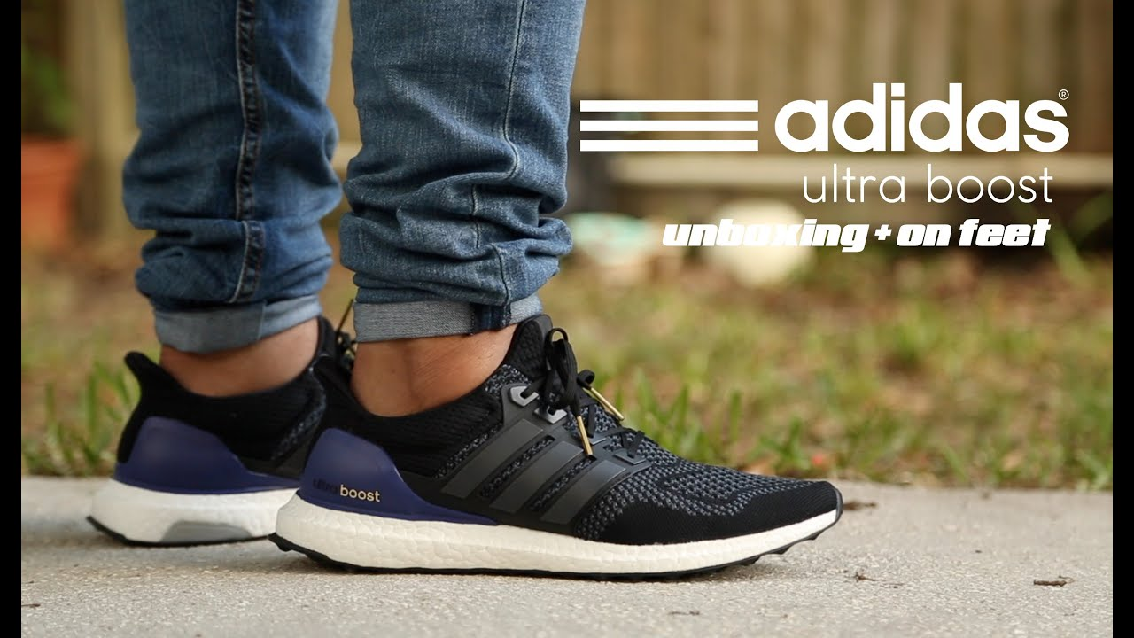 b415523f9d37f Adidas Ultra Boost  OG  Unboxing + On Feet - YouTube