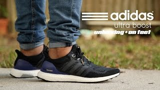 Adidas Ultra Boost 'OG' Unboxing + On