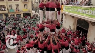 Human Pyramids: A Metaphor for Catalonia Independence | The New York Times