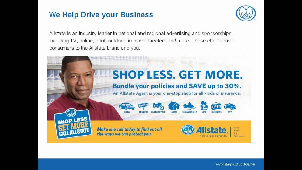 webcast allstate personal financial representative