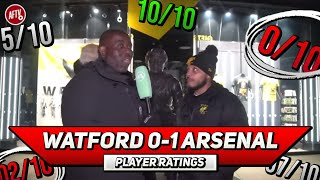 Watford 0-1 Arsenal |  Away Win & Back In The Top 4 I Can't Ask For More! | Player Ratings Ft Troopz
