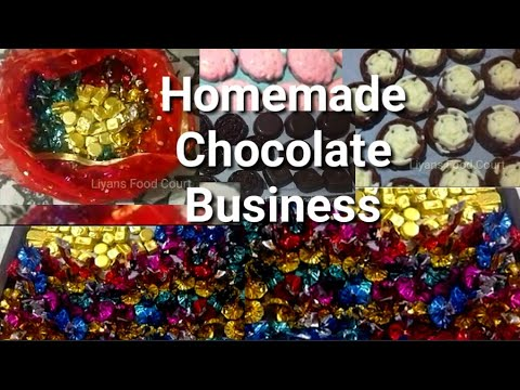 ഞാൻ Chocolate business ചെയ്യുന്നത് ഇങ്ങനെ യാണ് /Homemade Chocolate Malayalam/Liyans Food Court