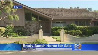Iconic 'Brady Bunch' House Goes Up For Sale In Studio City