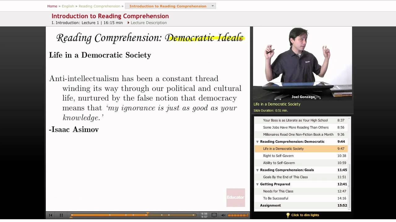 reading comprehension thesis statement Numbers of relevant paragraphs from the selection follow reading comprehension answers a good thesis statement only thesis-and-support outline thesis.