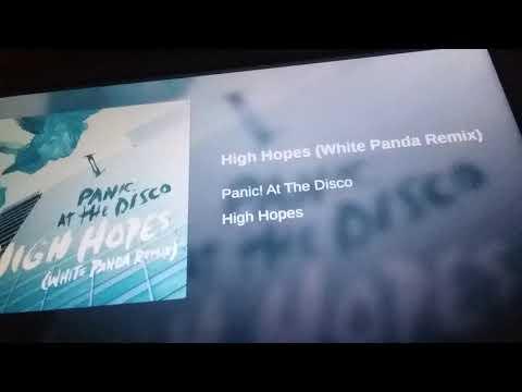 Panic in the disco [high hopes] white Panda remix