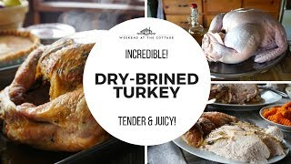 DRY-BRINED TURKEY RECIPE | Tender & Juicy