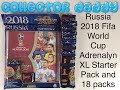 Russia 2018 Fifa World Cup Adrenalyn XL Starter Pack And 18 Packs