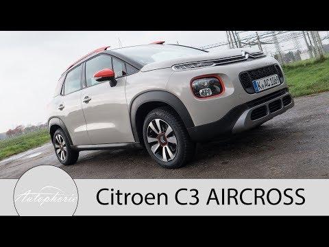 2017 Citroen C3 AIRCROSS PureTech 110 EAT6 Fahrbericht inklusive Grip Control - Autophorie