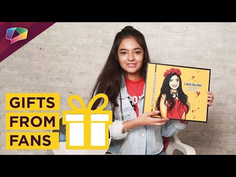 Anushka Sen Receives Gifts From Her Fans | Exclusive | India Forums