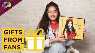 Anushka Sen Receives Gifts From Her Fans | Exclusive | India Forums thumbnail