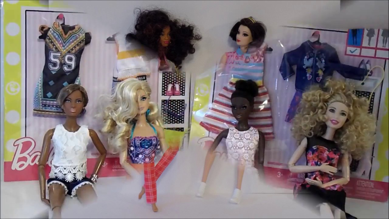 2017 Barbie Fashion Packs