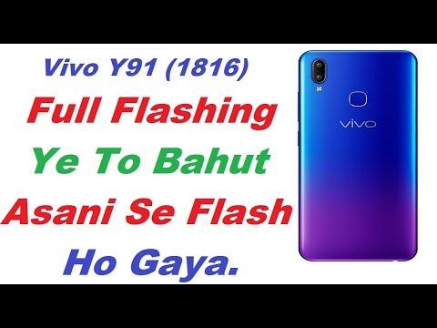 vivo-y91-(1816)-flashing-tutorial-how-to-flash-vivo-y91-#vivoy91flash-#vivo1816-flashing
