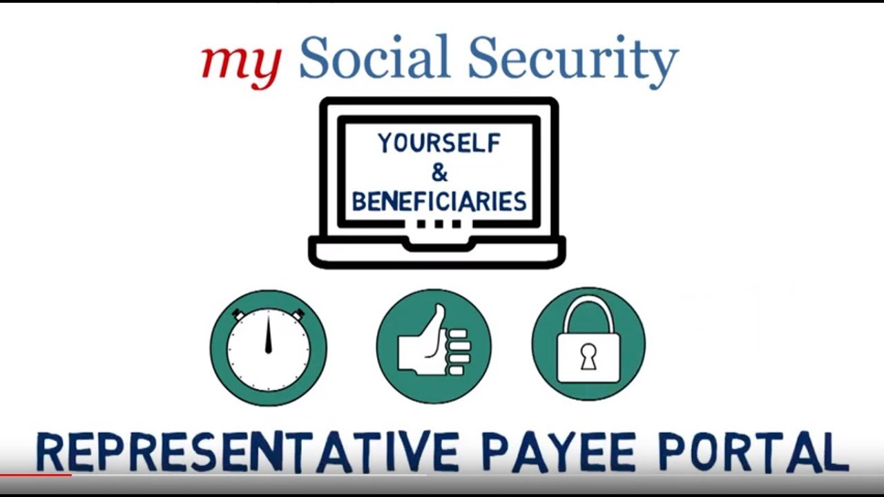 How To Use The Representative Payee Portal Youtube
