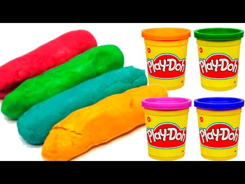How to make Play Doh -  Surprise eggs - Stop motion - huevos sorpresa