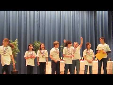 Park Ave Elementary School in Warwick NY - Regional Odyssey of the Mind competition - 2011.