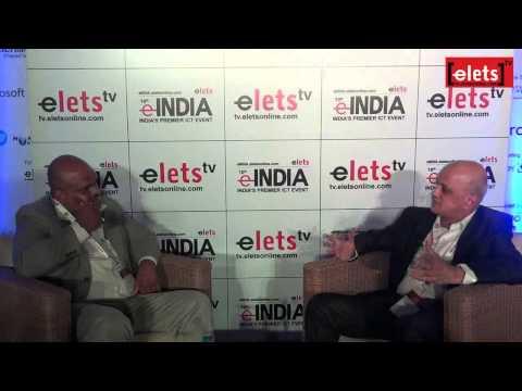 eINDIA 2014 - Interview - R Chandrashekhar, President, NASSCOM