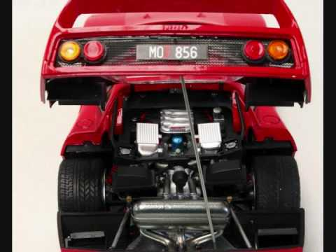 Tamiya Ferrari F40 Finished Youtube