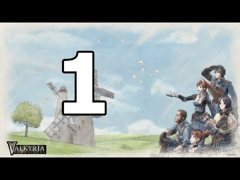 Valkyria Chronicles Remastered Walkthrough Part 1 - No Commentary Playthrough (PS4)