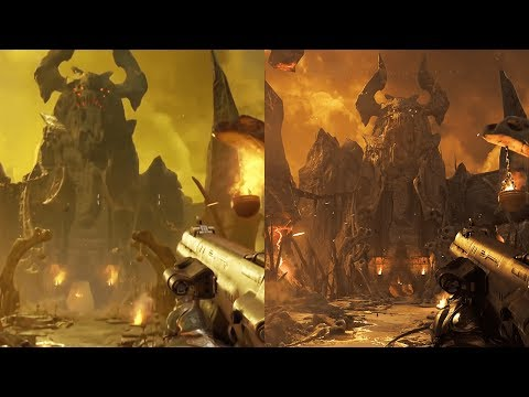 Thumbnail: DOOM E3 comparison: unexpected upgrade, mixed opinions