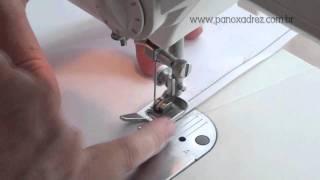Margem de costura – parte 2: Máquina comum mecânica