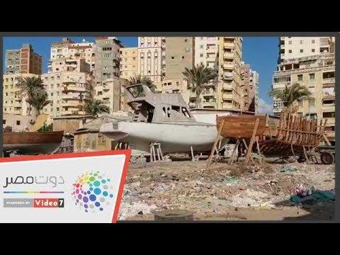 اليوم السابع :صناعة المراكب تقاوم الانهيار فى الإسكندرية