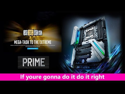 The Best X299 Motherboard ASUS Prime DELUXE for Intel Core X Series Processors 7900X