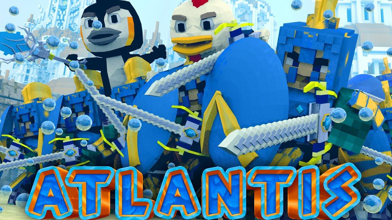 Atlantis adventures palace hostage take over minecraft for The atlantic craft minecraft