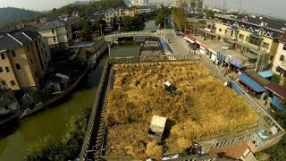 Rooftop Agriculture – Chinese Farmer Turns House Roof into Fertile Farmland
