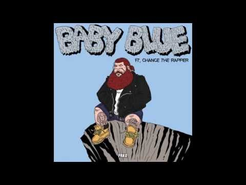 Action Bronson ft. Chance The Rapper - Baby Blue (Instrumental w/ Hook)