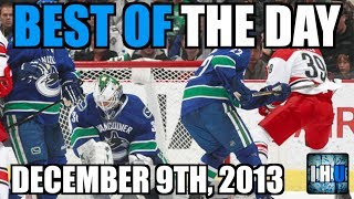 NHL BEST OF THE DAY (December 9th, 2013)