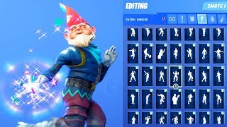 GRIMBLES SKIN SHOWCASE WITH ALL FORTNITE DANCES & EMOTES