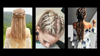 Braids hairstyle,trendy most demanding hairstyle for young girls
