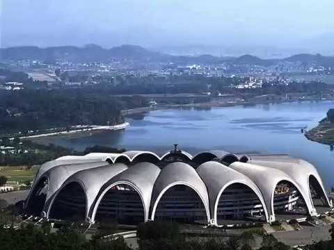 Rungrado Stadium in North Korea (World Largest Stadium)