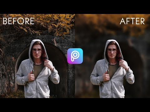 How To Blur Background In PicsArt