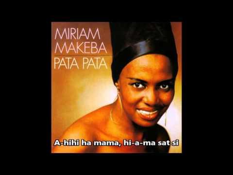 Miriam Makeba - Pata Pata (Letra/Lyrics)