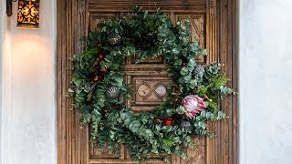 How to Make a Fresh & Faux Holiday Wreath | Sunset