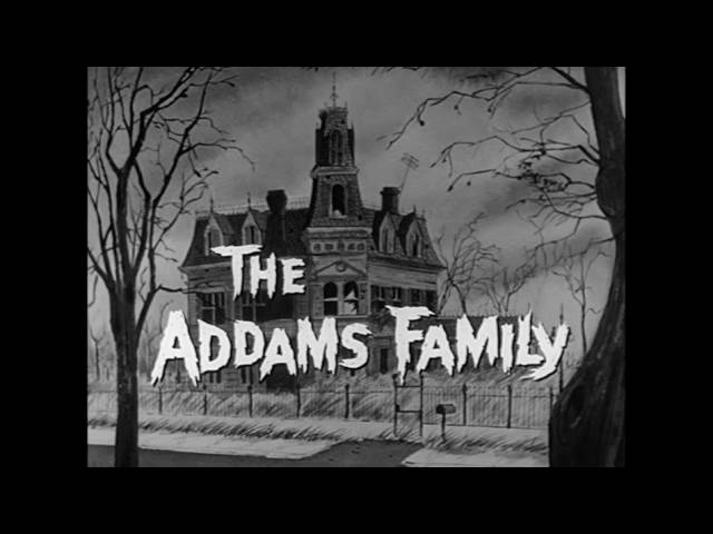 The Addams Family 1964 -1966 TV theme song - Instrumental lyrics - credit to the artist, Bill Berry