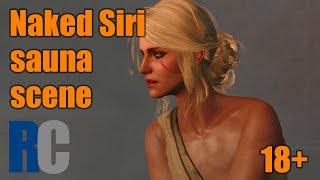 Naked Ciri - sauna scene | The Witcher 3 CZ tit