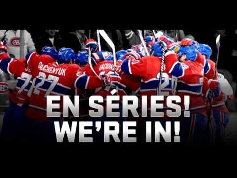 Montreal Canadiens Goal Song 2014 Playoffs